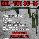 For Sale: KELTEC SU-16 OD GREEN - 5.56/223 - FACTORY NEW