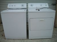 KENMORE SERIES 600 Washer & Gas Dryer
