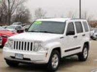 2012 Jeep Liberty White, 69K miles