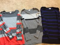 Lot of 3 Maternity sweaters size L