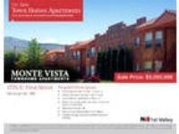 Multi-Family for Sale: Monte Vista Townhome Apartments For Sale,