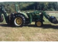 1987 John Deere 850-Tractor Equipment in Troy, NH