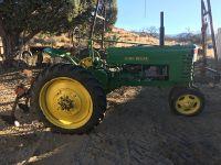$3,500, 1939 John Deer Model H tractor