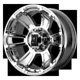 "Find 18"" XD XD796 REVOLVER CHROME WHEELS RIMS & NITTO TERRA GRAPPLER 285X60X18 TIRES motorcycle in Addison, Illinois, US, for US $1,971.00"