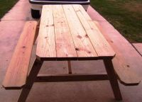 (()) New Strong Picnic Tables (())
