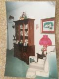 Tables and Chairs with Curio Cabinet
