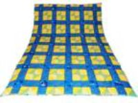 "Handmade Patchwork Quilt - ""Ocean Friends"" - Individual Size"