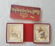 2 BUDWEISER COLLECTOR'S EDITION ORNAMENT