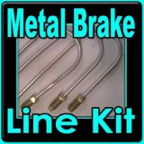 Find Brake line kit Jeep CJ-5 1967-1968-1969-1970-1971-1972-1973 6 & 8 cyl with Power motorcycle in Duluth, Minnesota, United States, for US $67.99