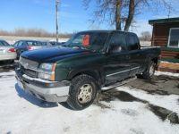 2003 Chevrolet Silverado 1500 Ext Cab 143.5 WB 4WD LS