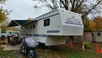 1995 Travel Supreme 40 Ft. 5th Wheel Camper