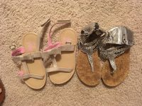 Size 8 toddler sandals (left pair never worn)