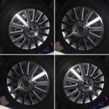 4 - 17 inch rims, comes with tires but tread is 50% used