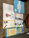 Pregnancy, baby sign language, baby food and wedding books!