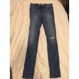 Abercrombie and Fitch high waist jeans