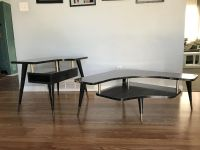 1950 s Boomerang Atomic coffee table & end table