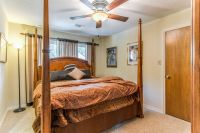 King Four Poster Bed with Armoire and Chest