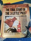 Hardcover The True Story of the 3 Little Pigs