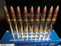 For Sale: 7.62x54 Brass cased Ammo