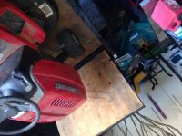 Toro  Troy built self propelled mowers and Murray riding mower
