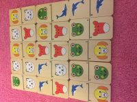Educational game (wood pieces)