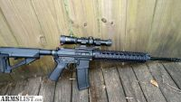 For Trade: HIGH END QUALITY BUILT 223/556 NATO AR-15 WITH BURRIS SCOPE, CASE & 3 EA 30-ROUND MAGAZINES
