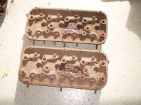RAT ROD HOT ROD Chrysler HEMI 331 Cylinder Heads 354 392 RARE OEM DODGE PART NUMBERS 1323333-2