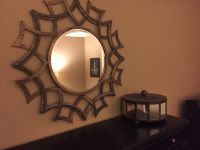 Wall mirror and decorative box