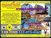 $50,000 TO $25 MILLION * REAL ESTATE LOANS & BUSINESS LOANS NO PG PROGRAMS & BEST CREDIT REPAIR
