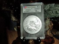 Exceptional and Beautiful 2014-P First Strike PCGS SP 70 SHENANDOAH  NATIONAL PARK 5 oz. SILVER QUAR