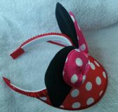 Little Girls Minnie Mouse head band