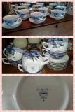 Set of Six Tea Cups