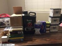 For Sale: Reloading Supplies