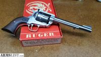 For Sale/Trade: Ruger Blackhawk New Model .357 Stainless Revolver 6.5IN