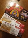 4 tickets to Chicago Laugh Factory