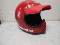 Buy Vtg BELL MOTO 3 Red Helmet 7 1/4 Motocross ATV BMX Motorcycle MOTO PEAK Visor motorcycle in Mission Viejo, California, United States