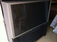 50 Hitachi Rear Projection T.V.