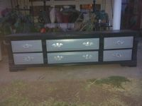 VERY PRETTY TV STAND OR BENCH FOR END OF BED WITH DRAWERS