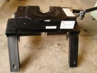 Sell Used Husky 5th Wheel Hitch 16,000 lbs motorcycle in Waterloo, Indiana, US, for US $250.00