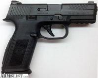 For Sale: FN FNS-9 9MM LUGER 17-SHOT BLACK, NO MANUAL SAFETY