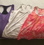 3 XXL tank tops. All washed but never worn. Price for all. Excellent condition
