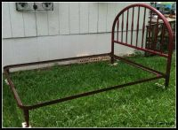 Antique Metal Bed