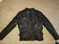 Women's leather jacket size small
