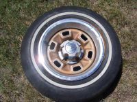 """Buy 1970 1971 CHEVY 14"""" Rally Wheel Rim 5 Lugs Camaro Nove Chevelle motorcycle in Whitewater, Colorado, United States"""