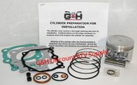 Buy Honda TRX350 Rancher Cylinder Top End Rebuild Kit Machining Service TRX 350 ATV motorcycle in Somerville, Tennessee, United States, for US $167.95