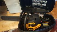 """Like New, open box Poulan Pro 18"""" Chainsaw with Case"""