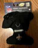 New Orleans Saints NFL Dog Harness-reflective-New!