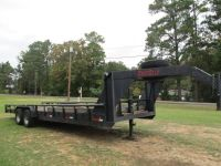 26 gooseneck trailer with 12,000 winch