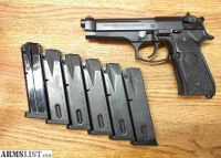 For Sale: LNIB Beretta 92fs with 6 mags, holster, D spring