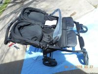 Peg Perego Book for Two Double Stroller in Onyx
